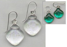 Earrings - diamond shape