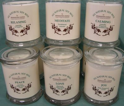 Natural Soy Wax Aromatherapy Jar Candles from Bennington Candle